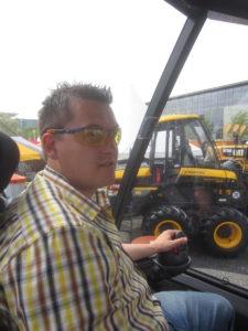 uvex Bombosch Harvester Schutzbrille Ambertönung
