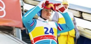 Eddie the Eagle Edwards Olympic uvex athlete