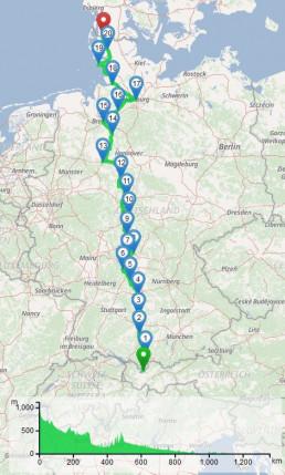 Route Sterntaler Reinhard Müller