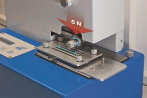 Image 1.2: Test de protection anti-coupure conforme à la norme EN 388:2003
