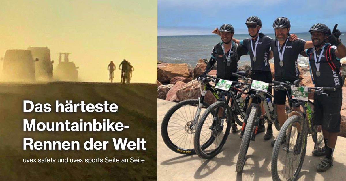 The toughest bike race in the world: Desert Dash Namibia