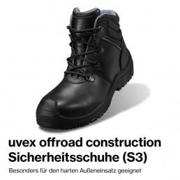 bauma 2019 Sicherheitsschuh uvex offroad construction