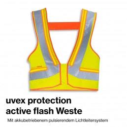bauma 2019 uvex protection active flash weste