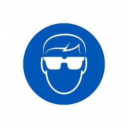 Schild Schutzbrillentragepflicht