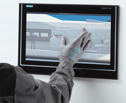 geeignet für die Bedienung von Touch-Displays