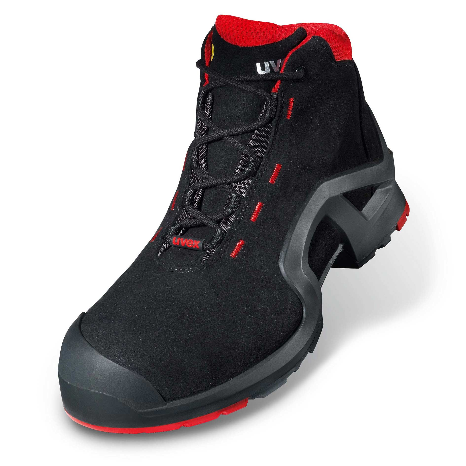 Uvex 1 X Tended Support S3 Src Lace Up Boot Safety Shoes