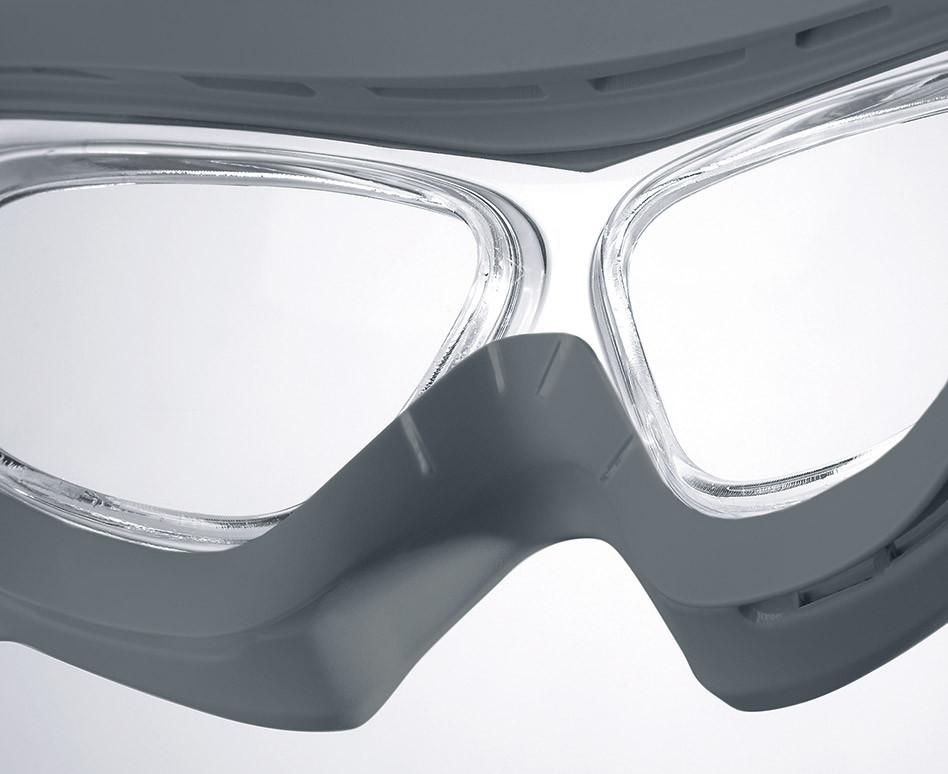 7804ee5e1f The flexible TPU frame is easy to clean. These goggles can be kept clean  and hygienic